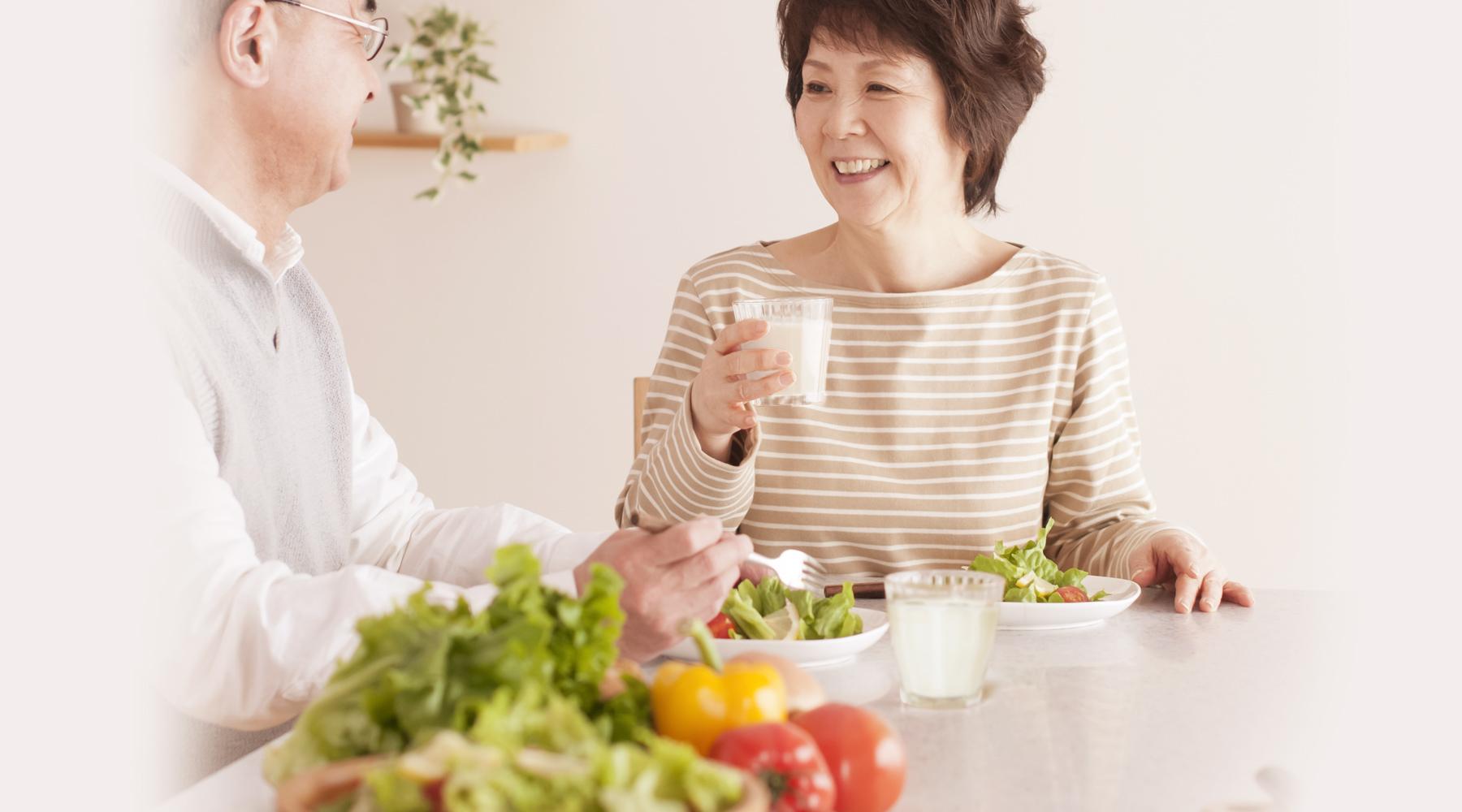 健康な毎日をはじめる明治の宅配サービス